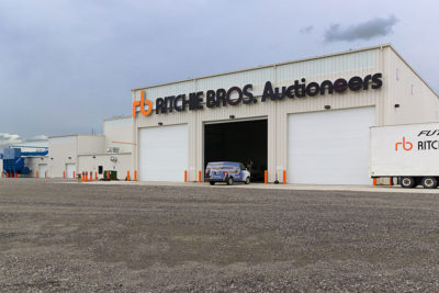 Ritchie Brothers Auctioneers Project Image
